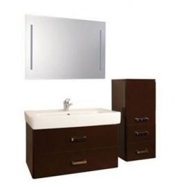Мебель для ванной Акватон Америна 80 темно-коричневая