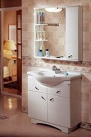 Мебель для ванной Акватон Аттика 85 правая