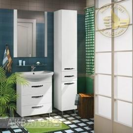 Мебель для ванной Акватон Ария Н 65 белая