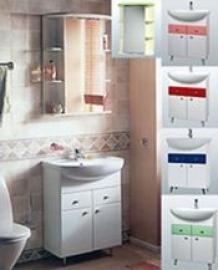 Мебель для ванной Акватон Кристалл 60