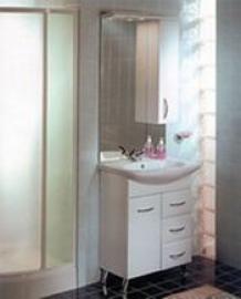 Мебель для ванной Акватон Марсия 67 правая