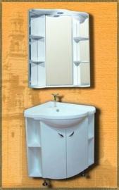 Мебель для ванной Два водолея Rondo 60*60
