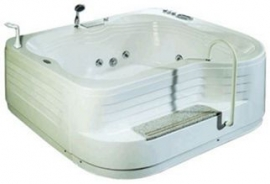 Акриловая ванна Luyisi А-8068 White