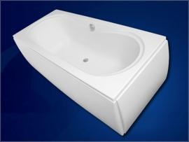 Акриловая ванна VagnerPlast Ebony 160*75