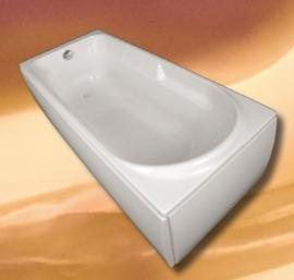 Акриловая ванна  VagnerPlast Hera 180*80