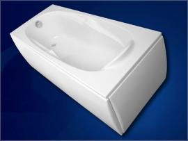 Акриловая ванна VagnerPlast Kleopatra 160*70