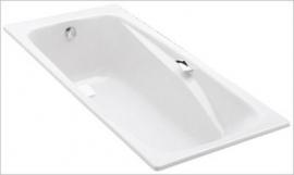 Ванна чугунная Jacob Delafon Repos E2903 180*85 с ручками