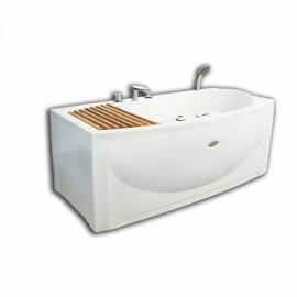 Акриловая ванна Radomir Альма 168*84 левая