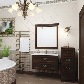 Мебель для ванной Opadiris Гарда 90 нагал