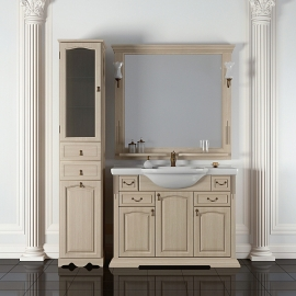 Мебель для ванной Opadiris Риспекто 100 белая