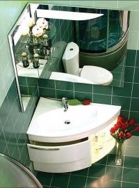 Мебель для ванной De Aqua Трио Lux левая