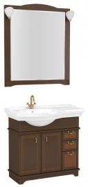 Мебель для ванной Aquanet Луис 90 левый