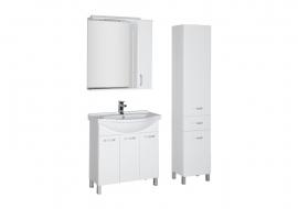Мебель для ванной Aquanet Глория 80