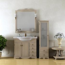 Мебель для ванной Opadiris Клио 80 белая