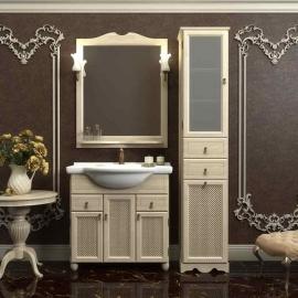 Мебель для ванной Opadiris Тибет 70 белая