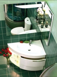 Мебель для ванной De Aqua Трио Lux правая