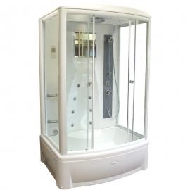 Душевая кабина Radomir Диана-2 139*108 с гидромассажем и баней