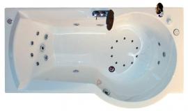 Акриловая ванна Radomir Валенсия 170*95 правая