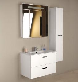 Мебель для ванной Roca Victoria Nord 80 ZRU9000032 белая