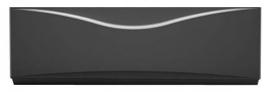 Панель фронтальная для ванны Aquanet Grenada черная