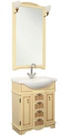 Мебель для ванной Aquanet Луис 60 бежевый