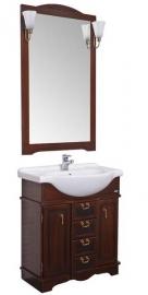 Мебель для ванной Aquanet Луис 80 темный орех