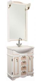 Мебель для ванной Aquanet Луис 80 белый