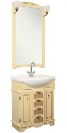 Мебель для ванной Aquanet Луис 80 бежевый