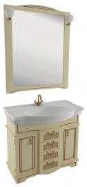Мебель для ванной Aquanet Луис 90 бежевый