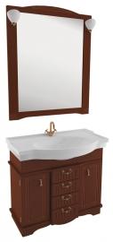 Мебель для ванной Aquanet Луис 110 темный орех
