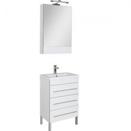Мебель для ванной Aquanet Верона 58 напольная белая
