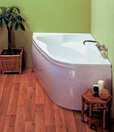 Акриловая ванна VagnerPlast Melite 160*105 левая