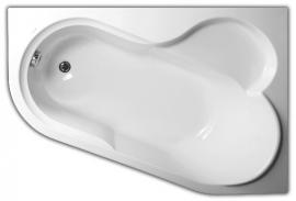 Акриловая ванна VagnerPlast Selena 147*100 правая