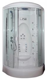 Душевая кабина Aquanet Taiti 110*110 с гидромассажем прозрачное стекло