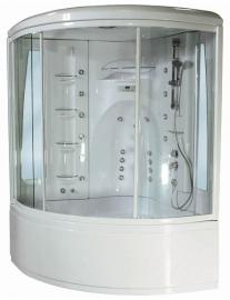Душевой бокс Aquanet Palau 140*140 без гидромассажа ванны с баней