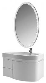 Мебель для ванной Aquanet Сопрано 95 белая с ящиком правая