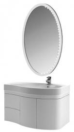 Мебель для ванной Aquanet Сопрано 95 белая распашная правая