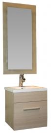 Мебель для ванной Aquanet Нота 50 лайт светлый дуб