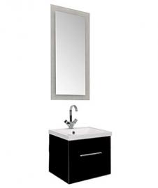 Мебель для ванной Aquanet Нота 50 лайт черная