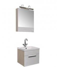 Мебель для ванной Aquanet Нота 50 камерино белая