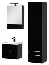 Мебель для ванной Aquanet Нота 50 камерино черная