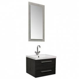 Мебель для ванной Aquanet Нота 58 лайт черная