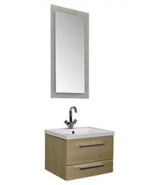 Мебель для ванной Aquanet Нота 58 лайт светлый дуб