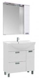 Мебель для ванной Aquanet Сити 80 белая