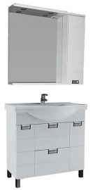 Мебель для ванной Aquanet Сити 100 белая