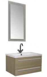 Мебель для ванной Aquanet Нота 75 лайт светлый дуб