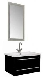 Мебель для ванной Aquanet Нота 75 лайт черная