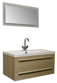 Мебель для ванной Aquanet Нота 90 Лайт светлый дуб