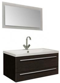 Мебель для ванной Aquanet Нота 90 Лайт черная