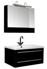 Мебель для ванной Aquanet Нота 90 камерино черная